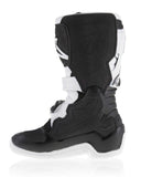 2017 ALPINESTARS TECH 7S YOUTH KIDS BOOTS BLACK / WHITE