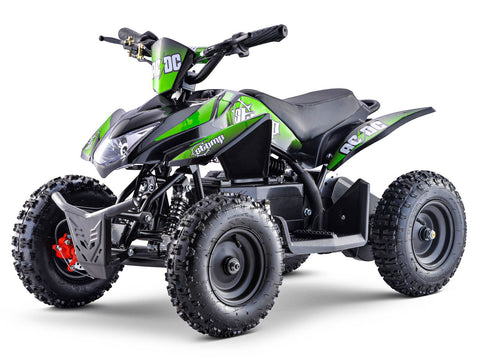 STOMP AC/DC ELECTRIC QUAD BIKE GREEN