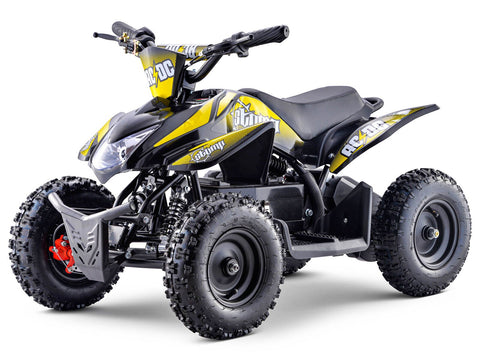 STOMP AC/DC ELECTRIC QUAD BIKE YELLOW