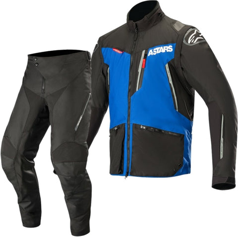 Alpinestars Venture R Enduro Gear Pants & Jacket Black Blue