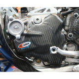 PRO CARBON HONDA ENGINE CASE COVER - IGNITION SIDE