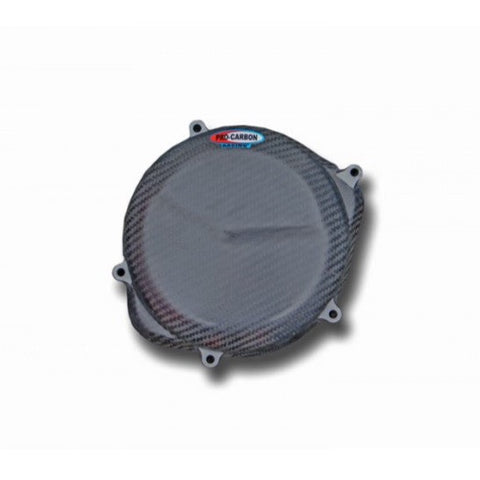PRO CARBON HONDA ENGINE CASE COVER - CLUTCH SIDE