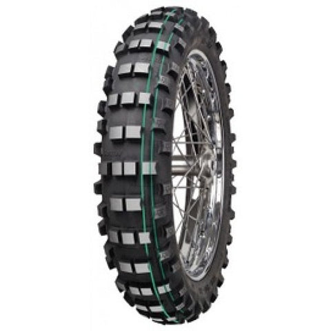 Mitas EF07 FIM Enduro Rear Tyre - Double Green