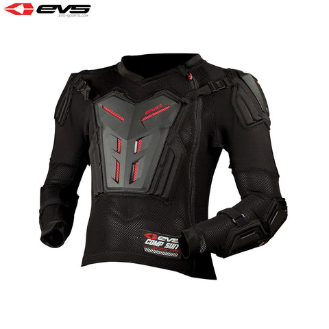 EVS Comp Suit Youth Black (Optional Sizes)