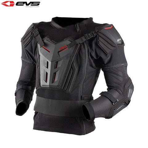 EVS Comp Suit Adult Black (Optional Sizes)