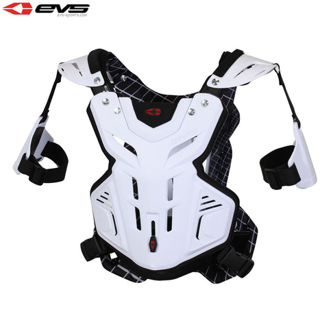 EVS 2014 F2 Chest Protector White Youth