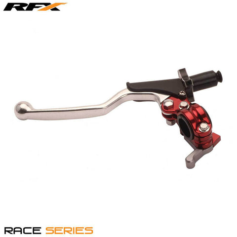 RFX Race Clutch Lever Assembly Universal 4 Stroke EZ Adjust Blue