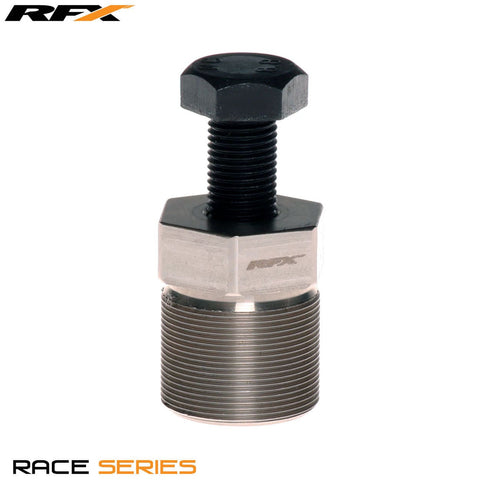 RFX Race Series Flywheel puller (Silver) External RH M30xP1.5 Beta Rev3/Evo 00-16 Sherco ST 99-16 Scorpa 11-16