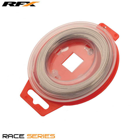 RFX Race Grip locking Safety Wire (Silver) Universal 0.8mm x 30m Roll