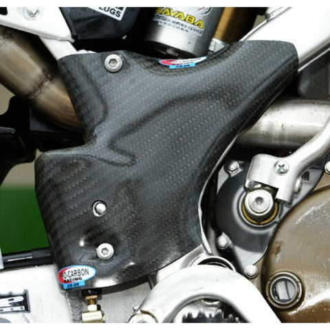 PRO CARBON KAWASAKI FRAME PROTECTION