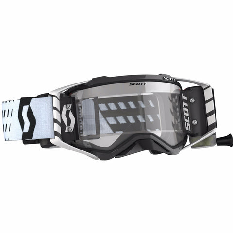 SCOTT PROSPECT WFS GOGGLE - BLACK/WHITE CLEAR