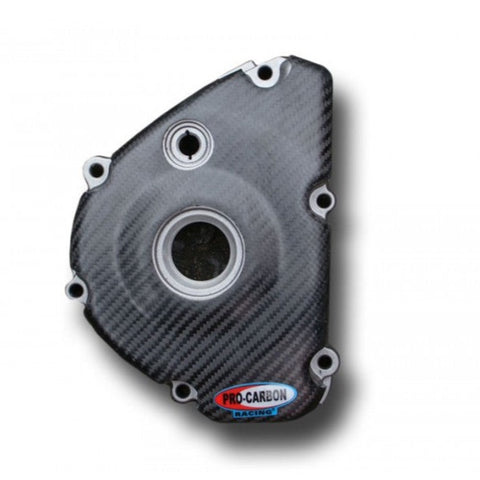 PRO CARBON KAWASAKI ENGINE CASE COVER - IGNITION SIDE