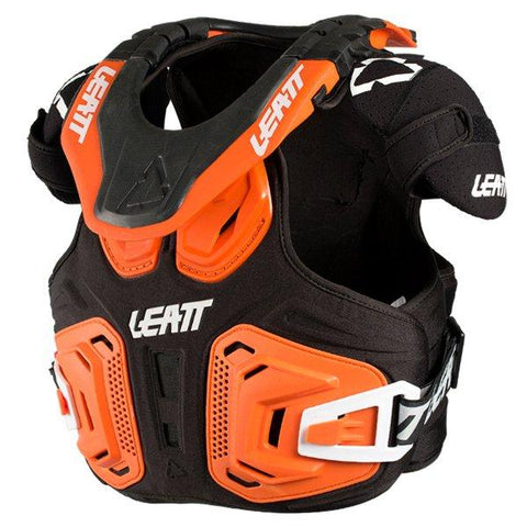 Leatt Fusion 2.0 Kids Orange Body Armour & Neck Brace
