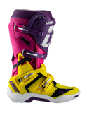Leatt GPX 5.5 Flexlock Boots - Yellow Purple