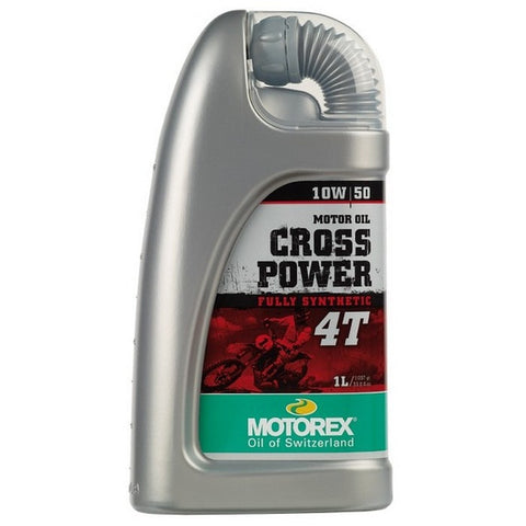Motorex Cross Power 4T 10W/50 - 1 Litre