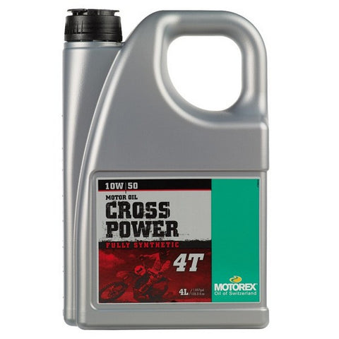 Motorex Cross Power 4T 10W/50 - 4 Litres