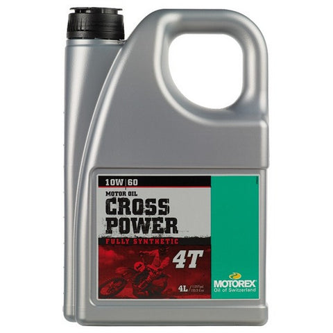 Motorex Cross Power 4T 10W/60 - 4 Litres