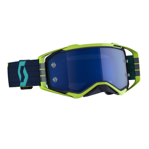 SCOTT PROSPECT GOGGLE blue/yellow / electric blue chrome