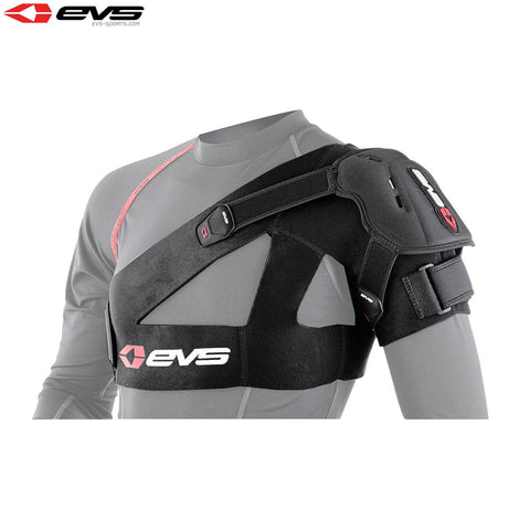 EVS SB04 Shoulder Stabiliser Inc Protection Cup Adult (Black)