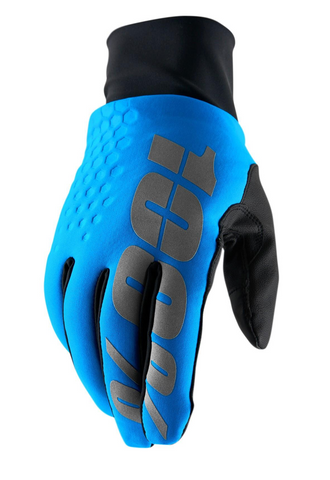 100% Hydromatic Brisker Gloves - Blue