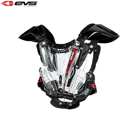 EVS Vex Chest Protector Youth Clear/Black