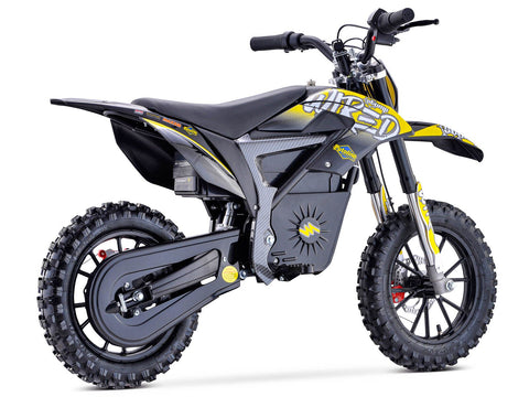 STOMP WIRED ELECTRIC BIKE - YELLOW