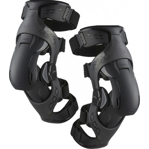 POD K4 Youth Kids Knee Braces per Pair Black NEW
