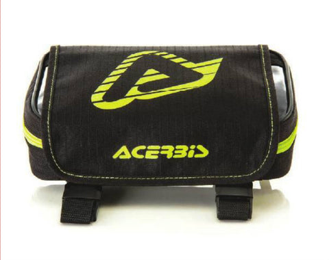 REAR FENDER TOOL BAG BLACK/FLO YELLOW