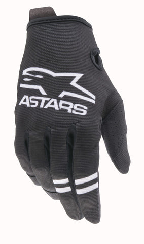 Alpinestars Radar Black White Gloves