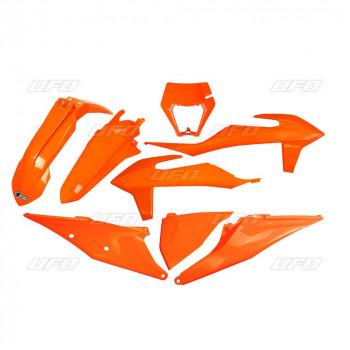 UFO Plastic Kit KTM EXC EXCF - Orange