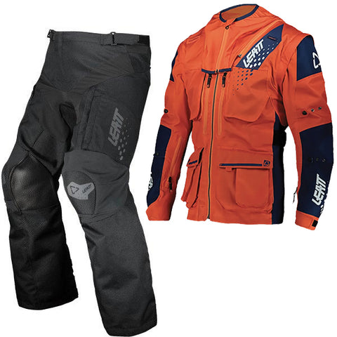 Leatt Moto 5.5 Enduro Combo - Orange Black