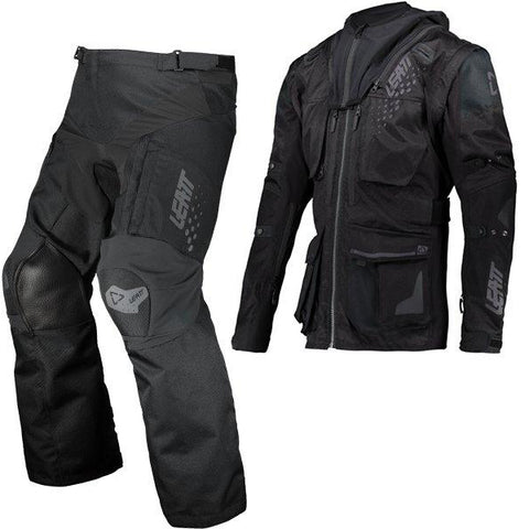 Leatt Moto 5.5 Enduro Combo - Black