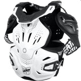 Leatt Fusion Vest 3.0 White Body Armour & Neck Brace