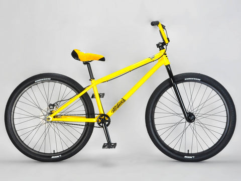Mafia Medusa Yellow Wheelie Bike