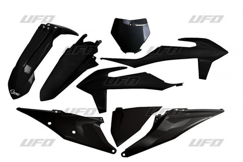 UFO 5 Piece Plastic Kit KTM SX SXF - Black