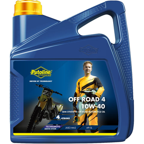 Putoline Technomoto Off Road 4 10W-40 - 4 Litres