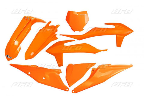 UFO 5 Piece Plastic Kit KTM SX SXF - Orange