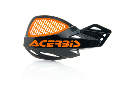 ACERBIS UNIKO VENTED HANDGUARDS - BLACK ORANGE