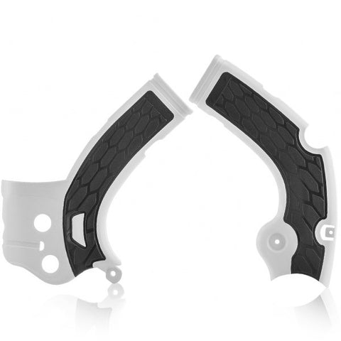 Acerbis Yamaha X-Grip Frame Guards - White