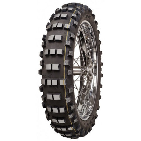 Mitas EF07 FIM Enduro Rear Tyre - Single Yellow
