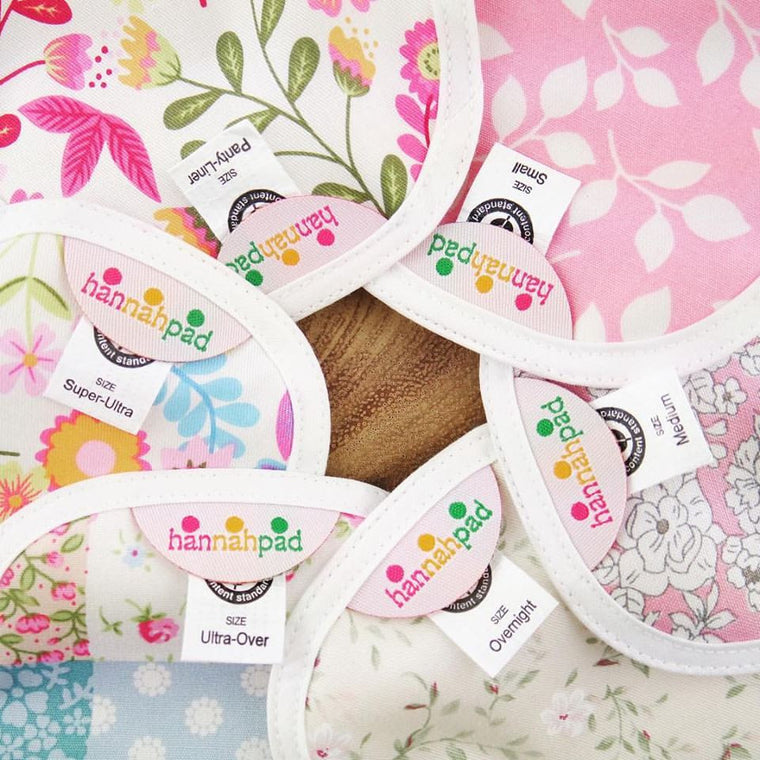 types of cloth pads