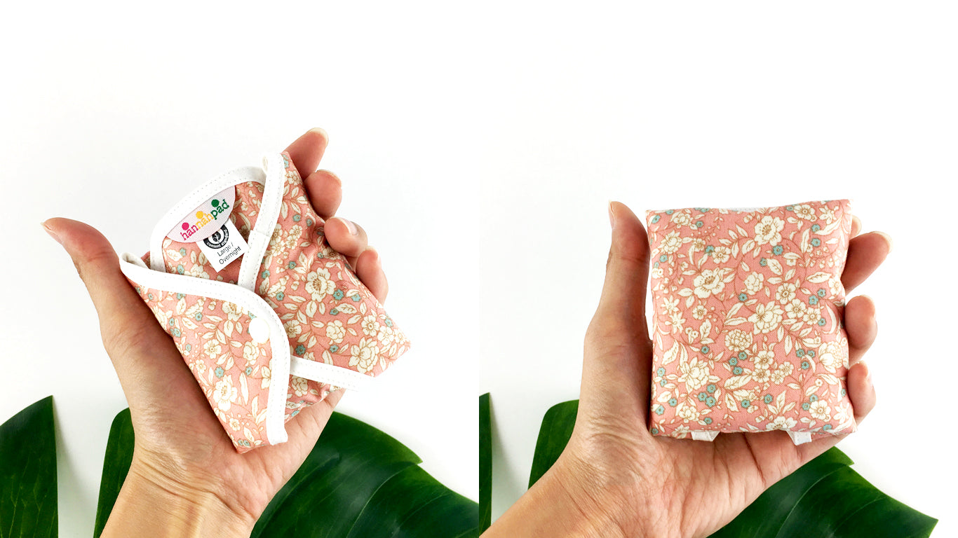 disposable menstrual pads