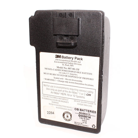 3M Healthcare (Centrimed, Racal & Sarnes, AVI) Air-Mate 1, 3 HEPA 10, 12 (007-00-15R01) Battery Rebuild (READ BELOW)