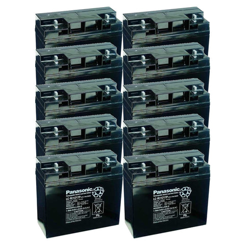 General Electric AMX-110, AMX-II, AMX-III, CMX Battery (10 Batteries)