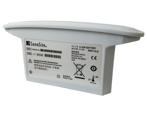 Sonosite 180+ Ultrasound (P00049-03, P00049-04) Battery (Send In For Retrofit)