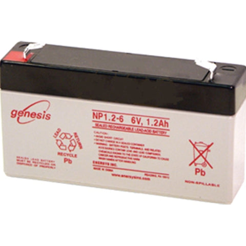 Dukane Master Clock Battery