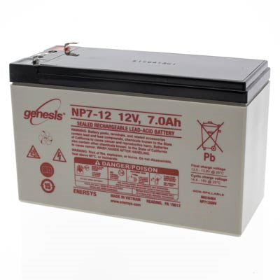 Pace Tech Vitalmax 4000, 4000CL, 4100CL Series Battery