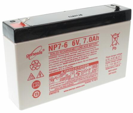 Life Line Systems ERC 400 Base Unit Battery (Requires 4/unit)
