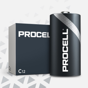Duracell C Cell Procell Professional - PC1400 (12 Pack)