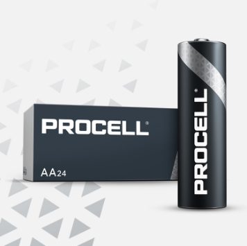 Duracell AA Cell Procell Professional - PC1500 (24 Pack)